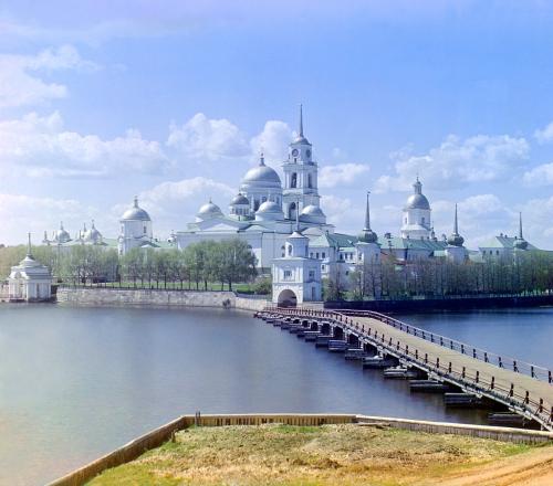 Монастырь Ниппова-Пустышь на озере Селигер, Сергей Михайлович Проскудин-Горский